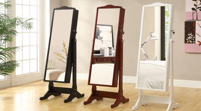 Full Length Mirror Armoire