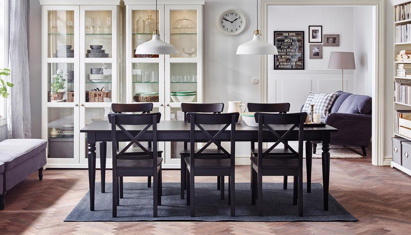 dining room furniture by IKEA
