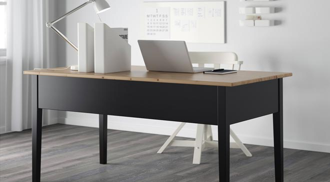 IKEA home office desk