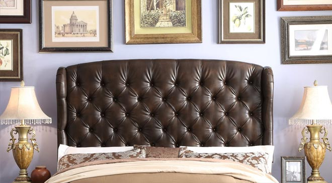 leather headboards