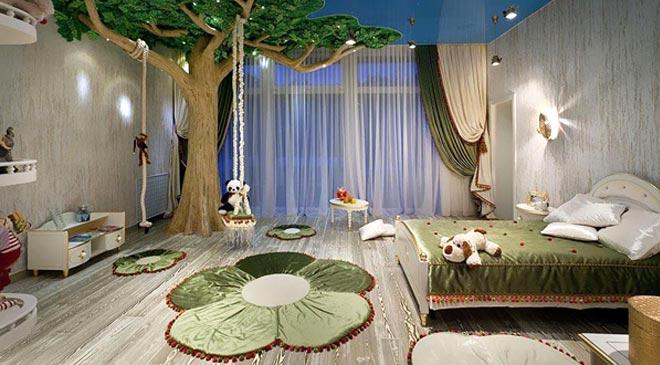 magical kids bedroom