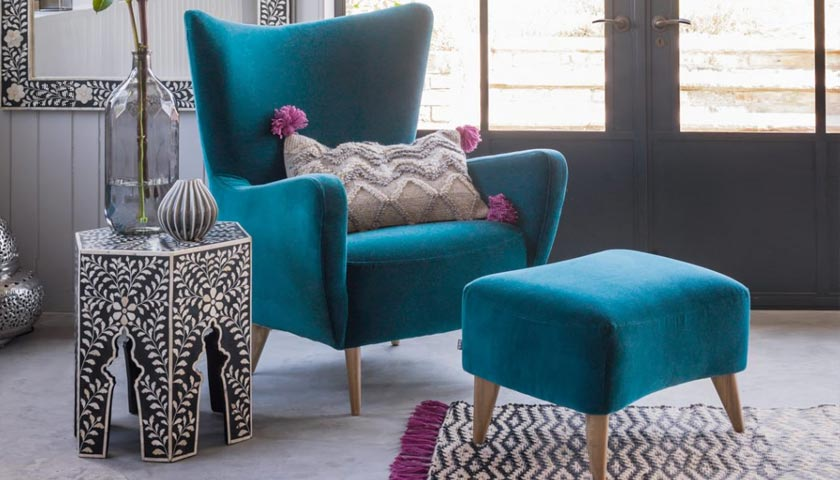 wingback chair by Graham & Green