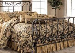 Beautiful Wrought Iron Sleigh Beds